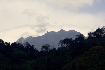 Portal peaks of Rwenzori mountains