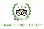 Tripadvisor Travellers choice award 2016 for Dutchess