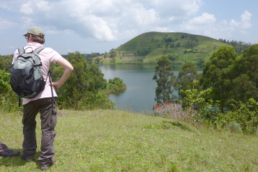 Hiking around Fort Portal in the Kasenda crater lake area